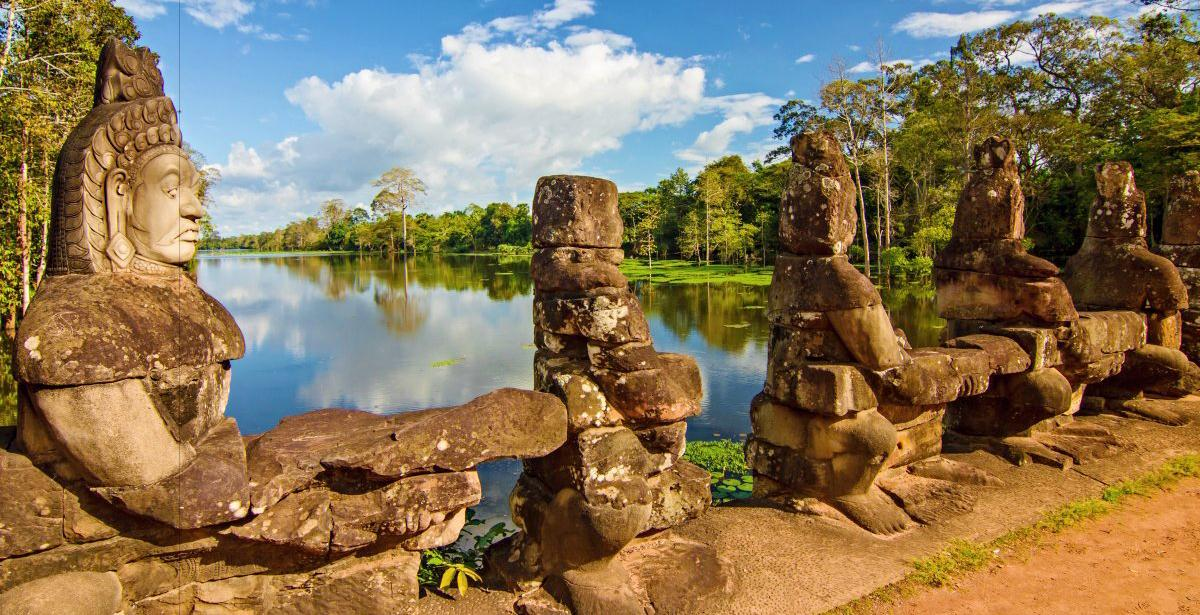 Angkor Thom Gate Temple | Angkor Tour Guides