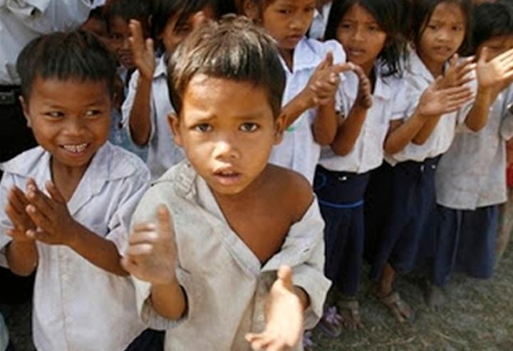 support children of Cambodia