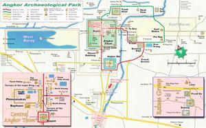 Angkor Wat Maps Angkor Wat Tour Guides Siem Reap